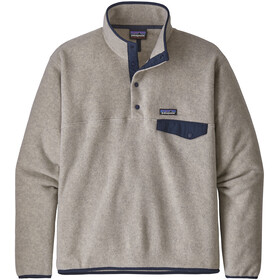 Patagonia Lightweight Synchilla Snap-T Pullover Men Oatmeal Heather